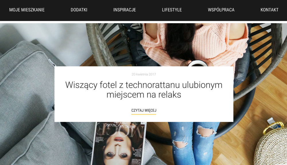 Skandynawskie wnętrza blog