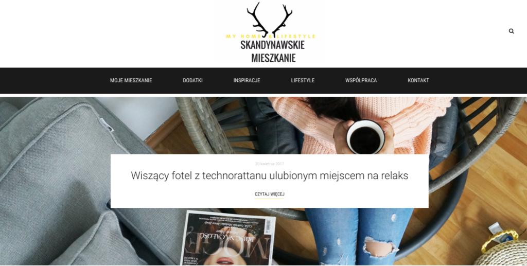 styl skandynawski blog