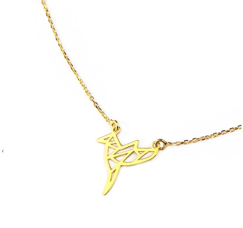 pozłacany koliber złota celebrytka