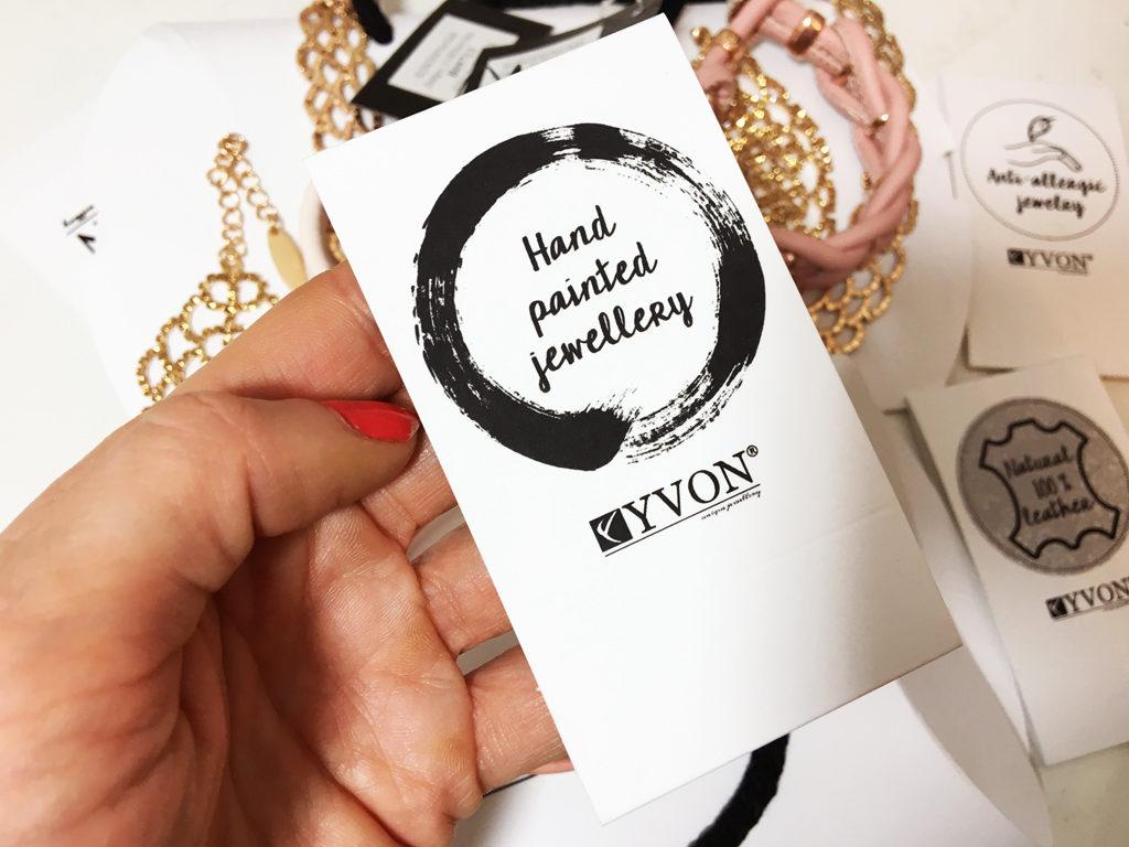Yvon biżuteria ręcznie robiona