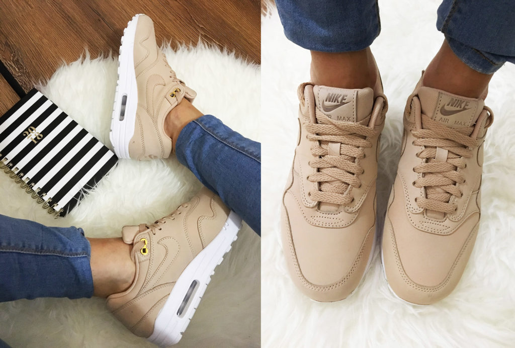 buty air max pudrowe