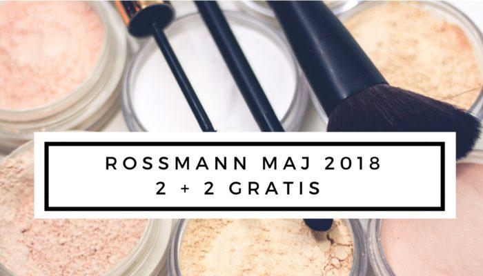 promocja rossmann na maj 2018