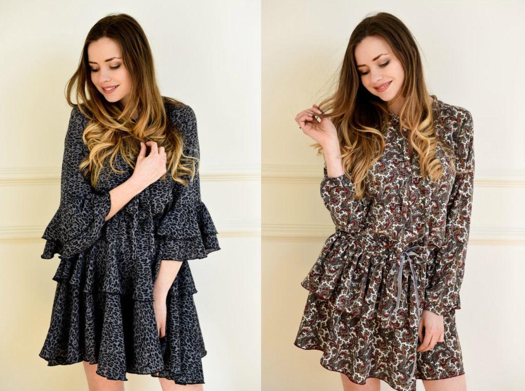 sukienki modne wakacje 2018