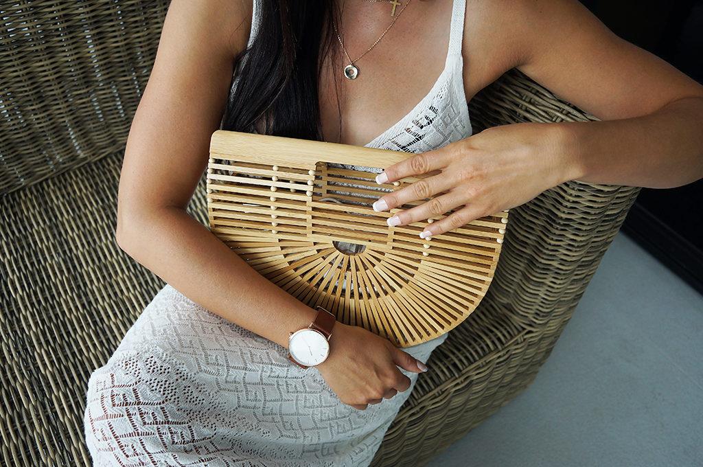 bambusowa torebka