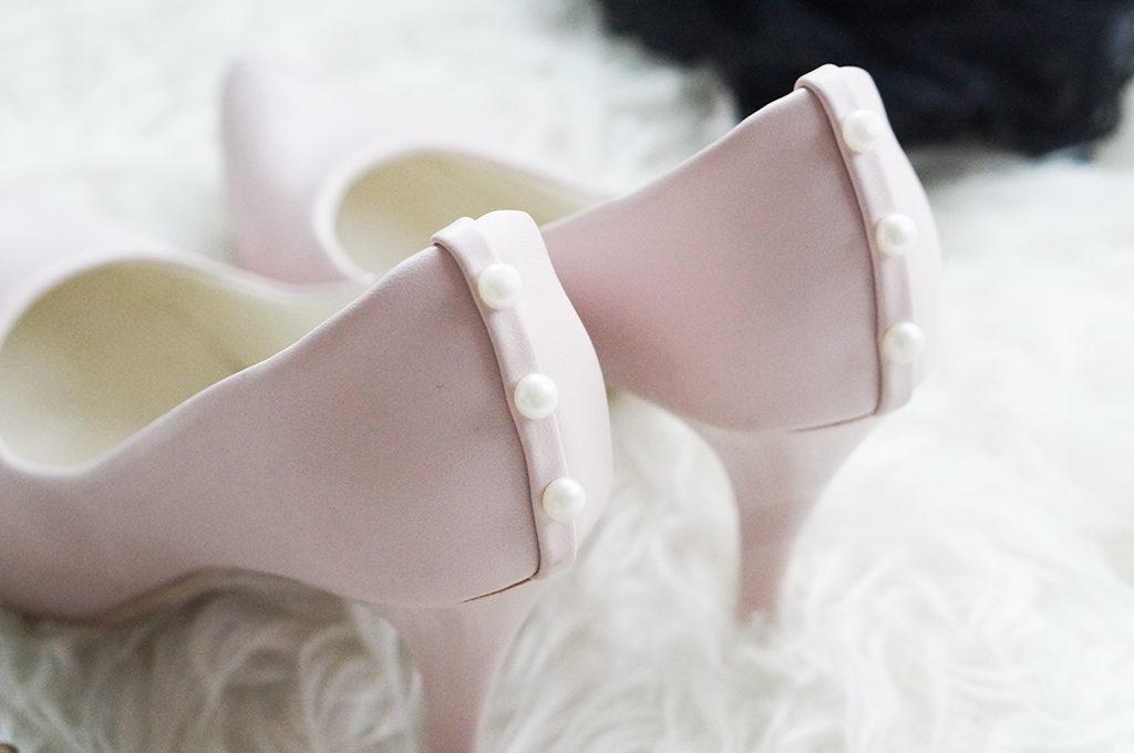jasno różowe szpilki