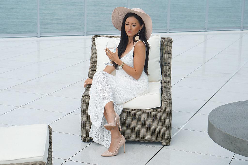 sukienka biała letnia