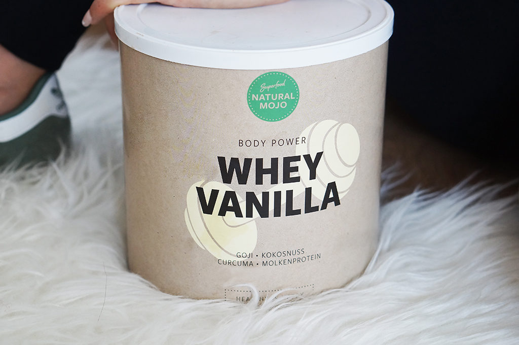 whey vanilla natural mojo