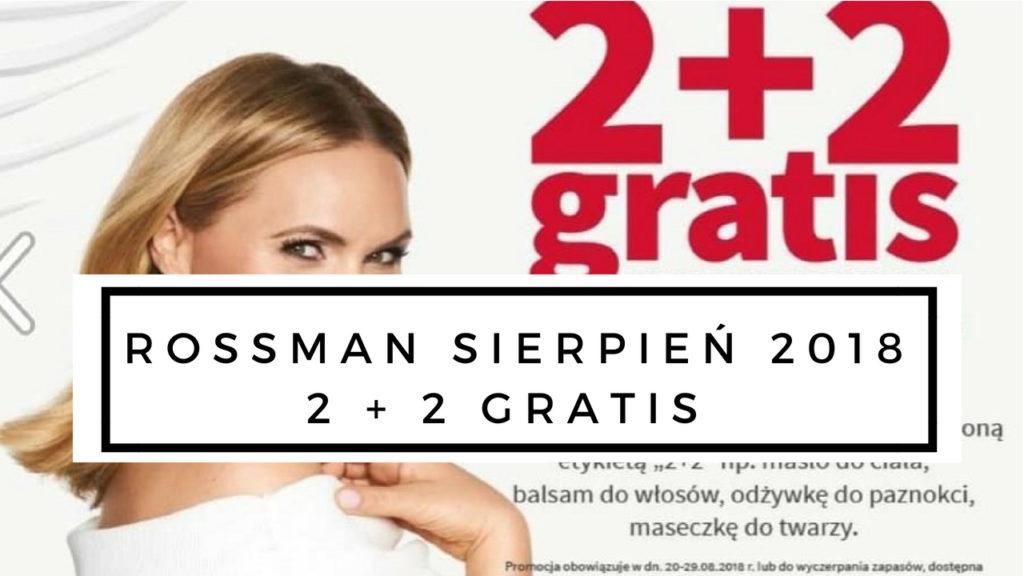 rossmann promocja sierpień 2 2 gratis