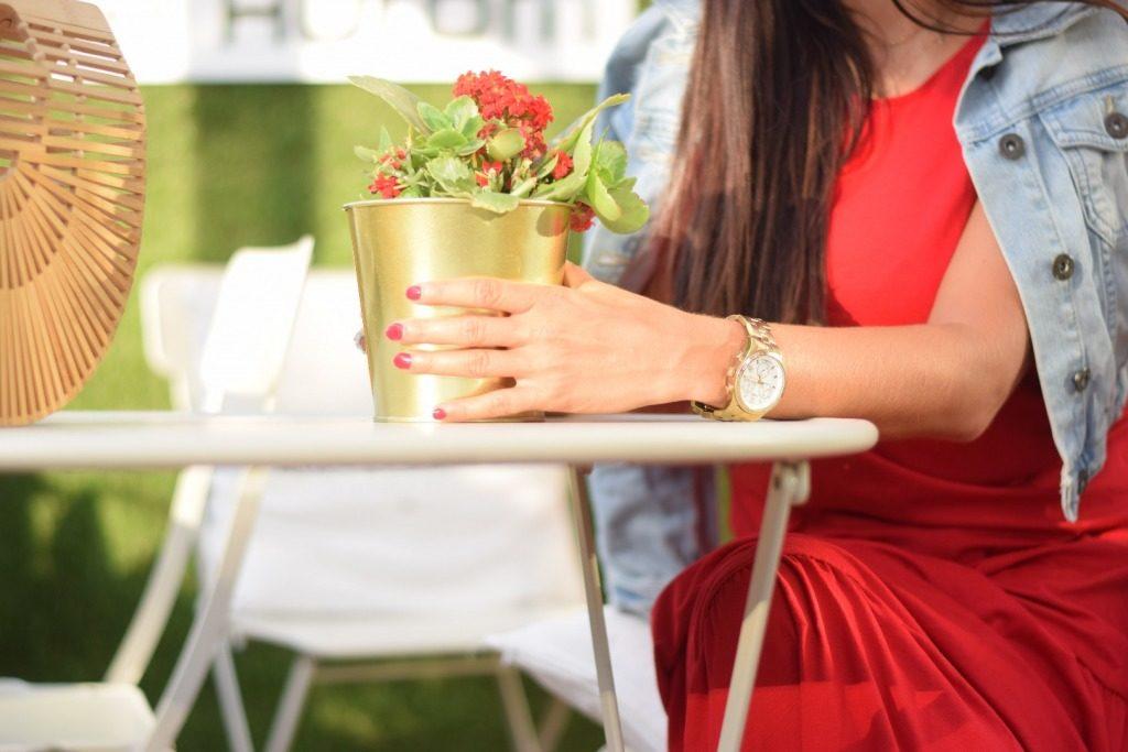 zegarek złoty timex blog