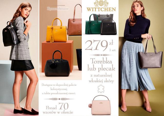 torebki wittchen z Lidla 2018 październik modele