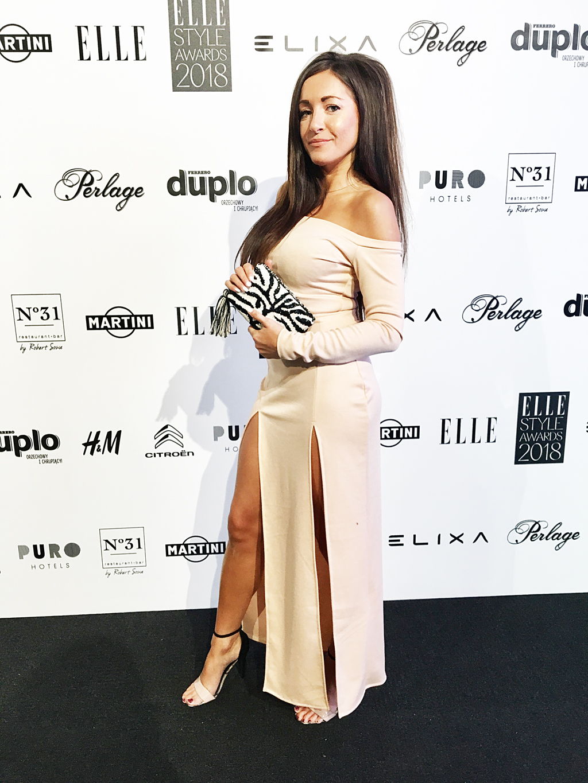 Elle Style Awards 2018 sukienka