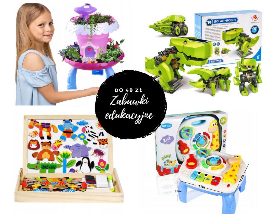 tanie zabawki edukacyjne dla dzieci na prezent