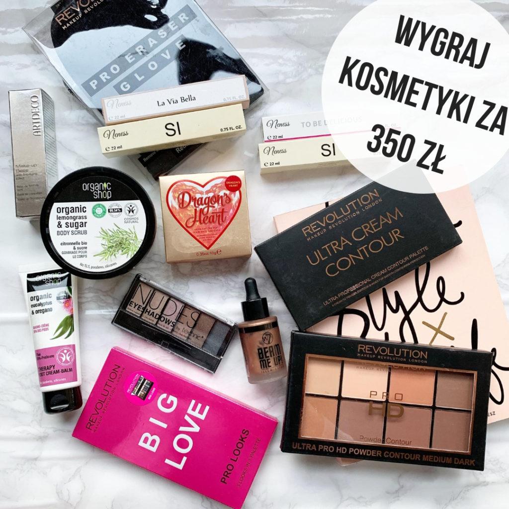konkurs kosmetyczny instagram