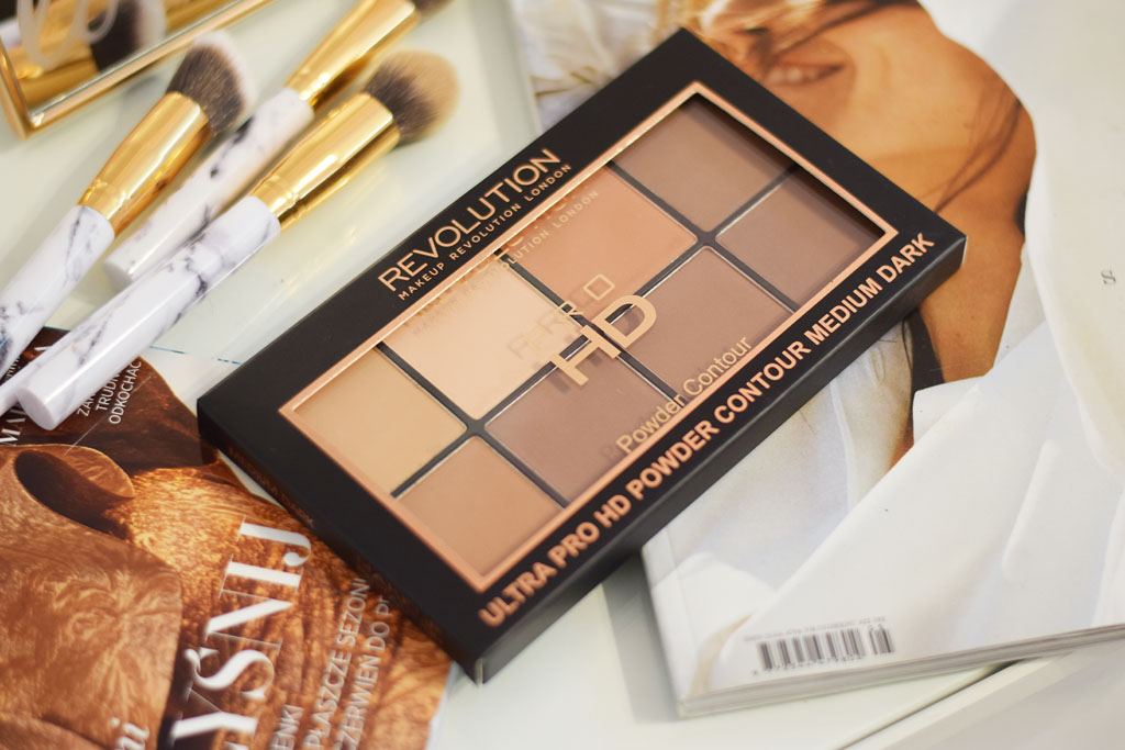 paleta makeup revolution pro hd