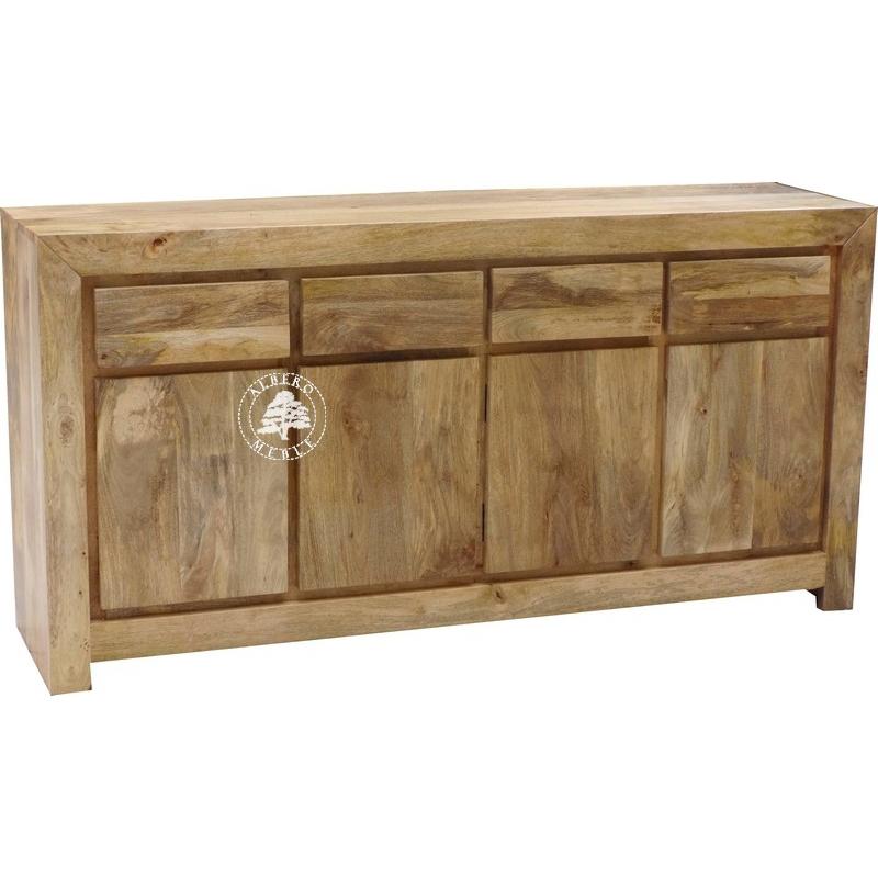 meble ekologiczne skandynawskie komoda drewniana