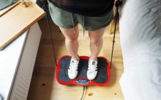 wibracyjna platforma ćwiczeńa