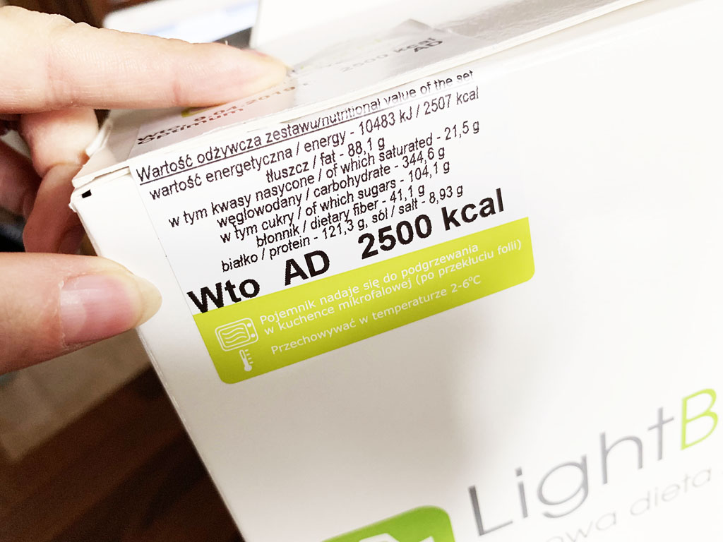 lightbox dieta