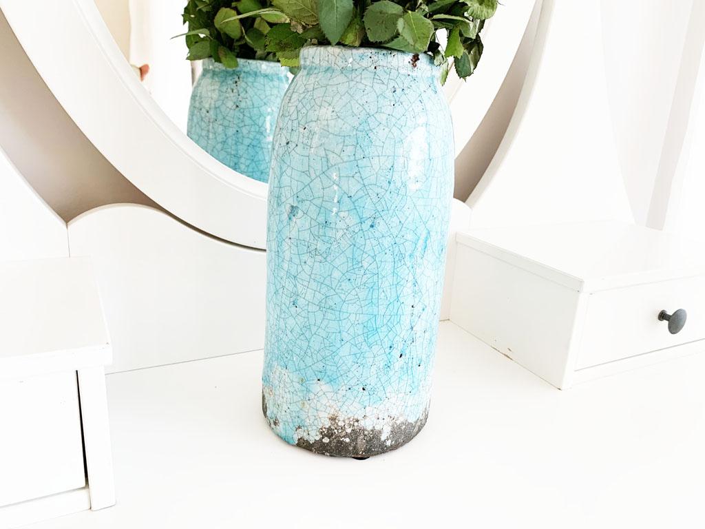 błękitny wazon