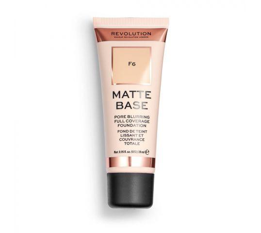podkład matujący makeup rvolution matte base