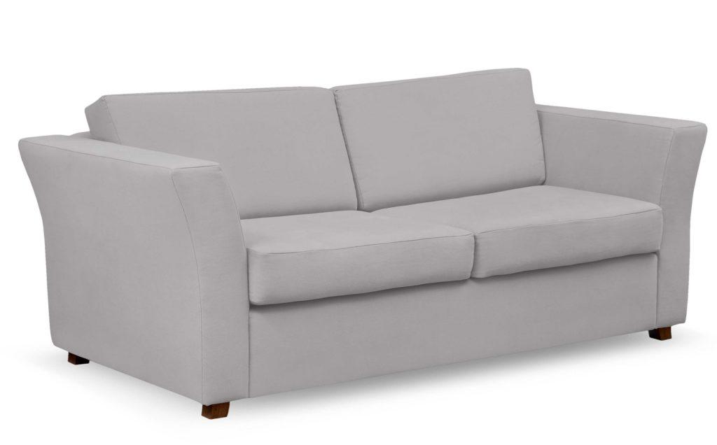 sofa skandynawska szara slaon