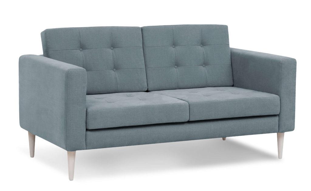 szara skandynawska sofa do salonu