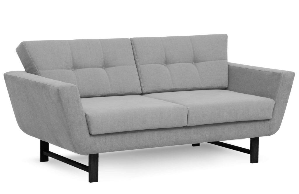 szara skandynawska sofa