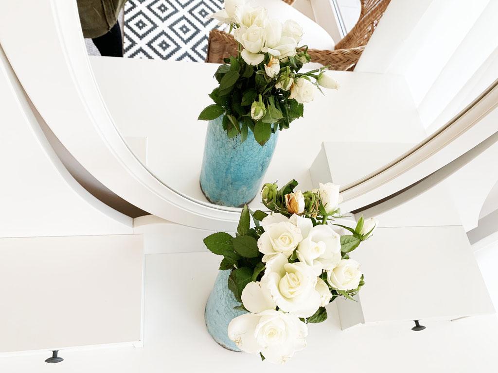 wazon błękitny