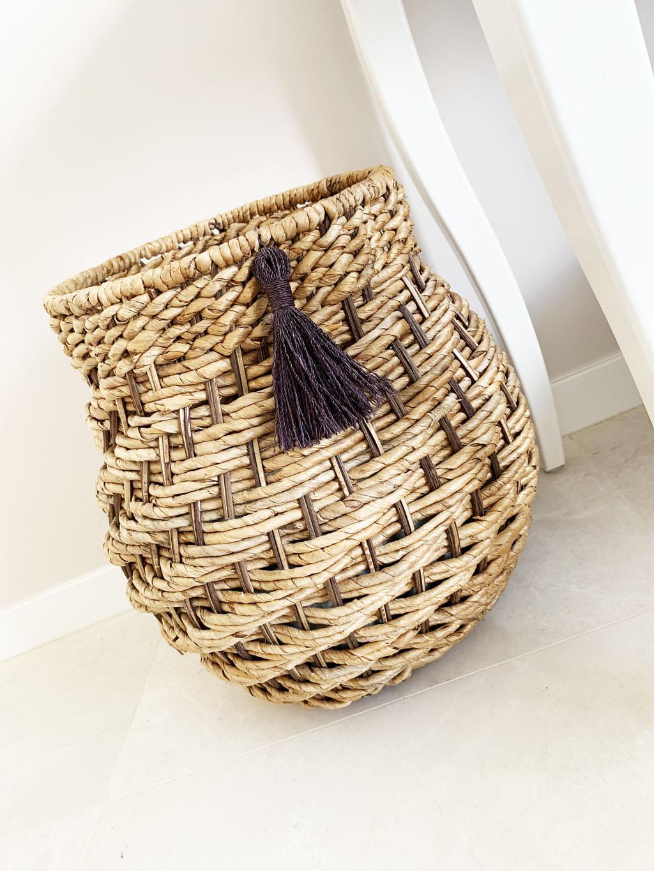 bambusowy kosz skandynawski