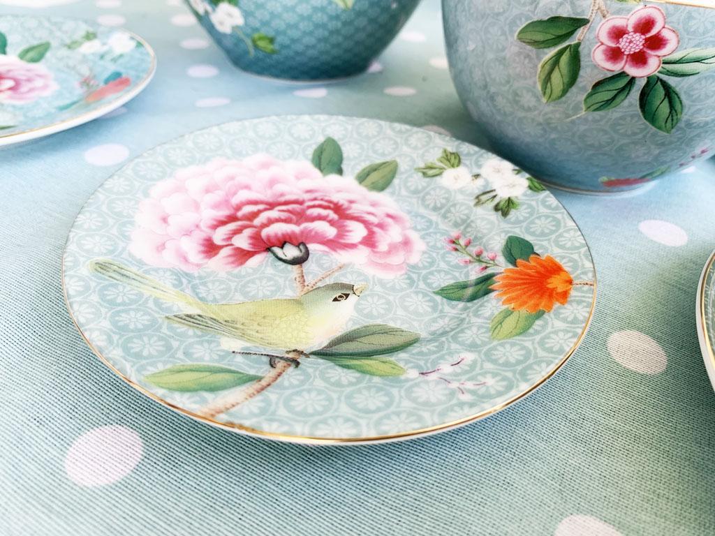 pastelowa porcelana miętowa