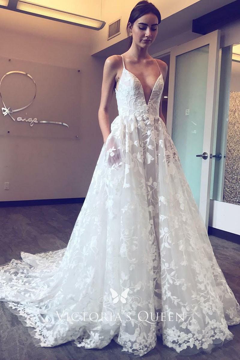 koronkowa suknia na ślub