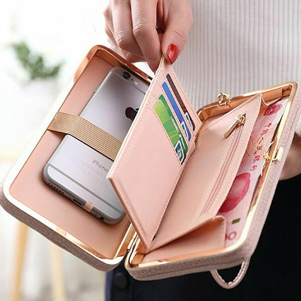 portfel pastelowy różowy