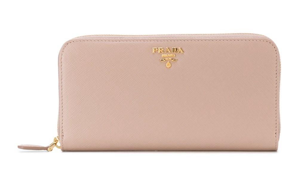 portfel prada różowy