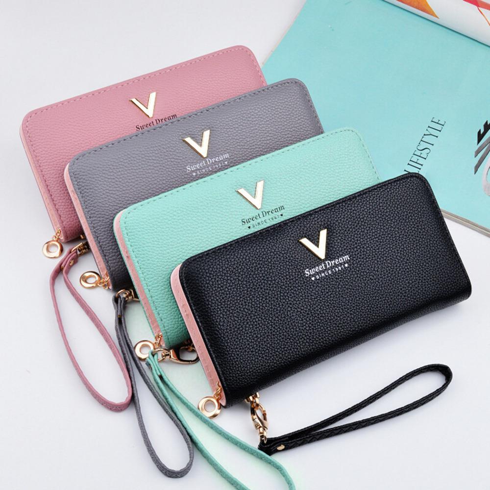 skórzany portfel pastelowy
