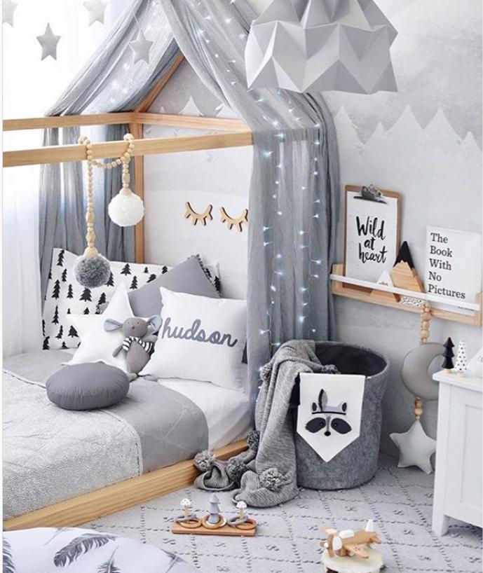 pastelowy pokój dziecinny