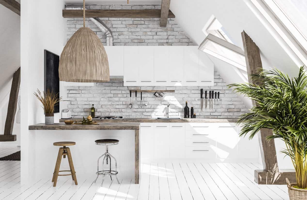 aranżacja skandynawskiej kuchni
