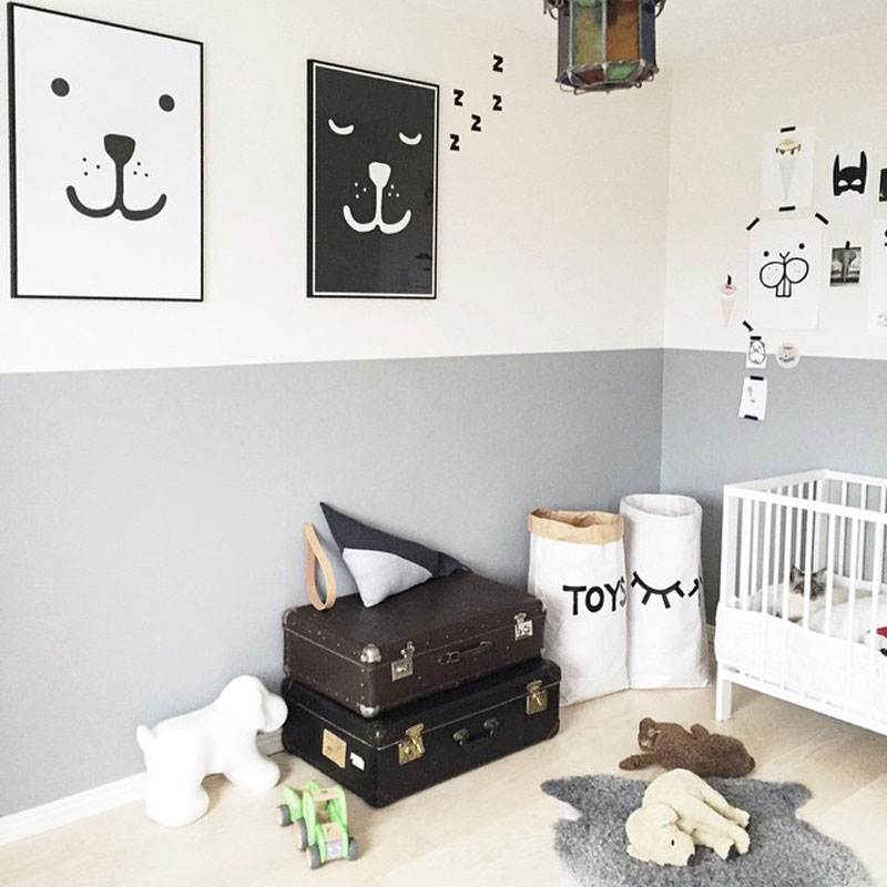 błękitny pokój dla dziecka