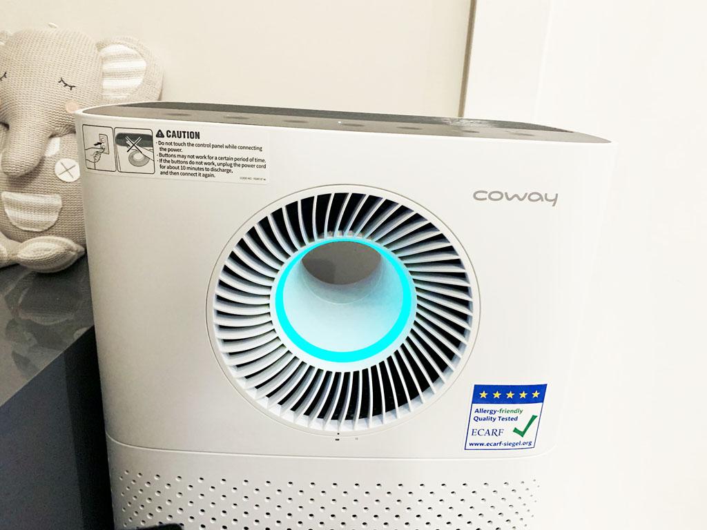 coway oczyszczacz powietrza