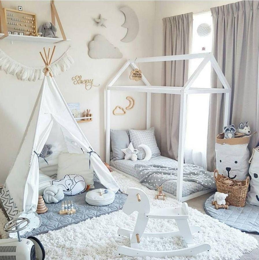 nowoczesny pokoik dla dziecka