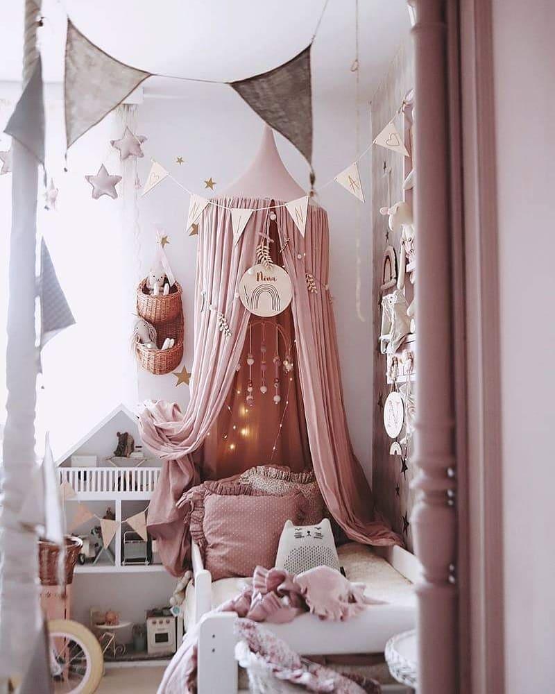 pastelowy pokój dla dziecka aranżacja skandynawska