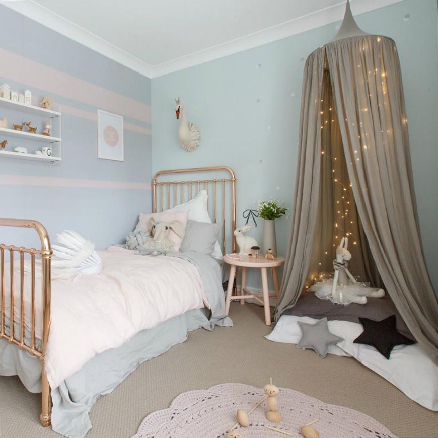pastelowy pokój dziecko