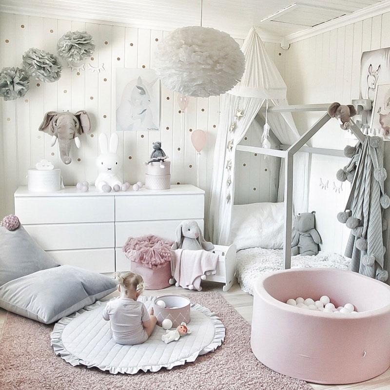 pastelowy pokój dziewczynka
