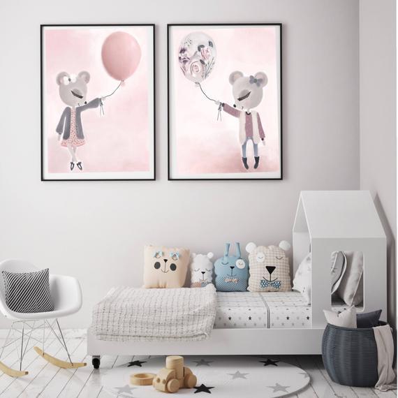 pastelowy pokoik dla dziecka