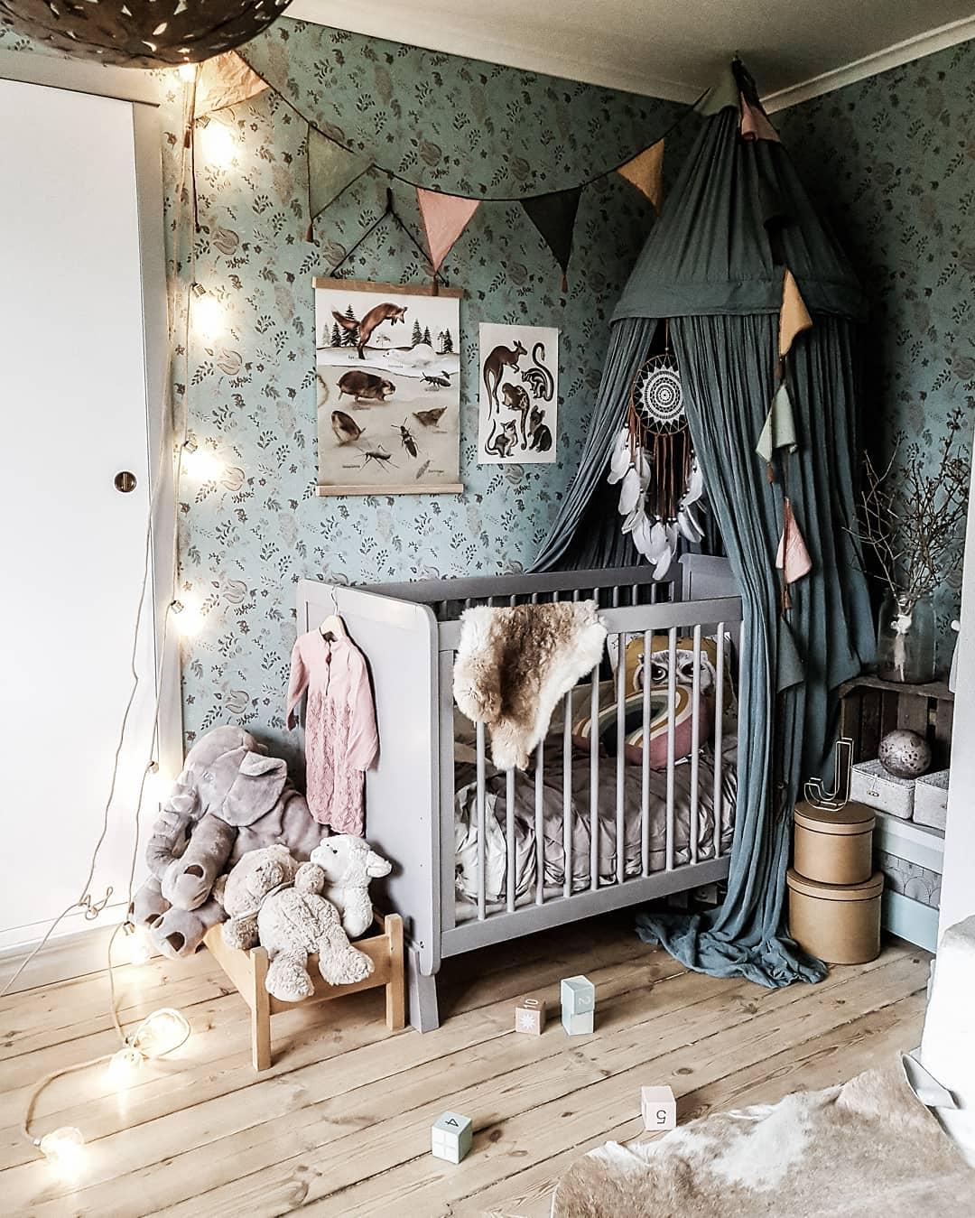 pokój dla dziecka miętowy