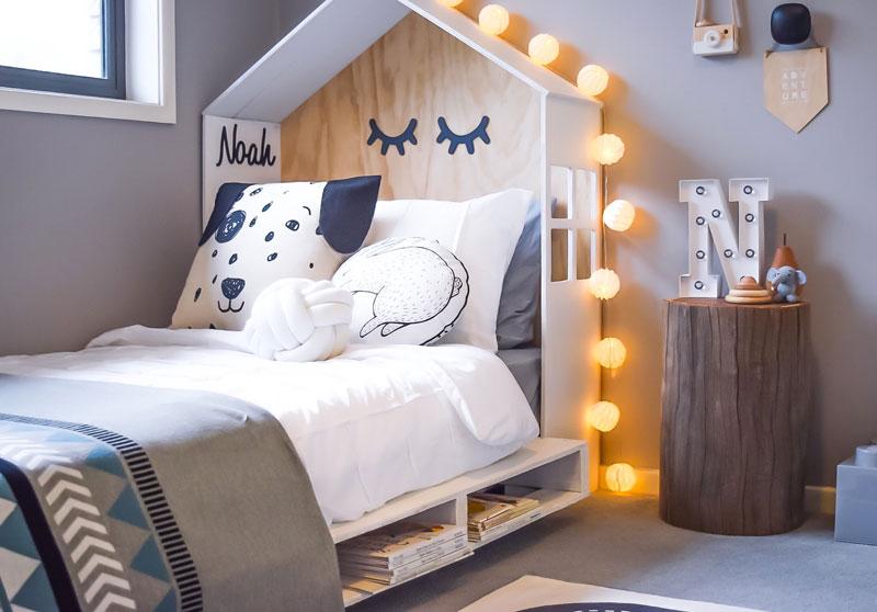 pokój dla dziecka w pastelach