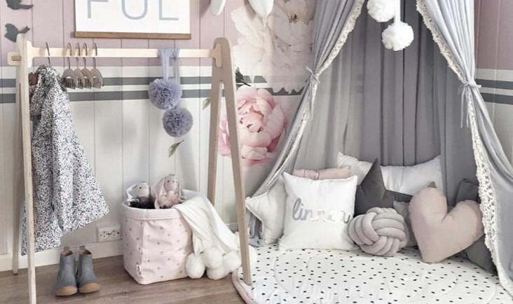 pokój dla dziecka w pastelowych barwach