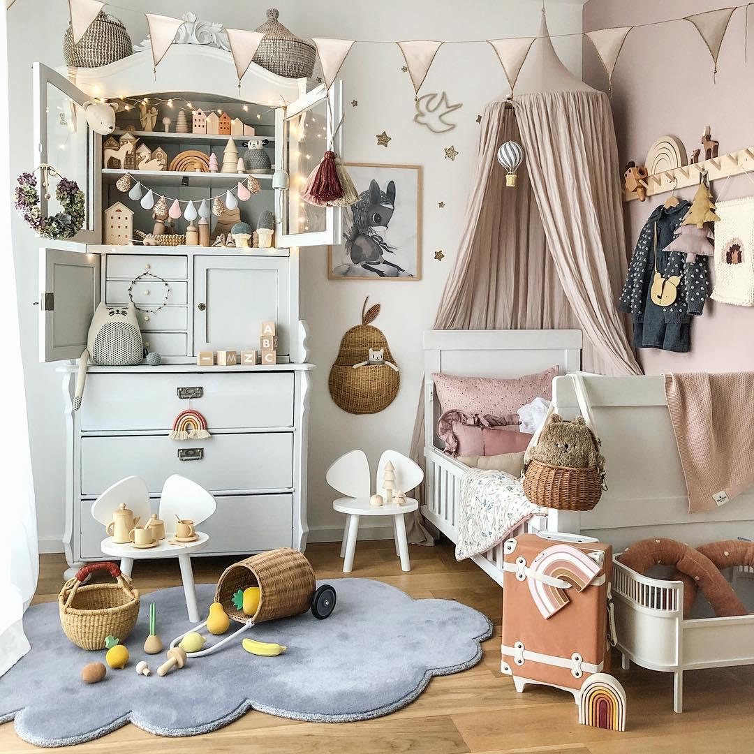 skandynawski pokój dla dziecka aranżacja
