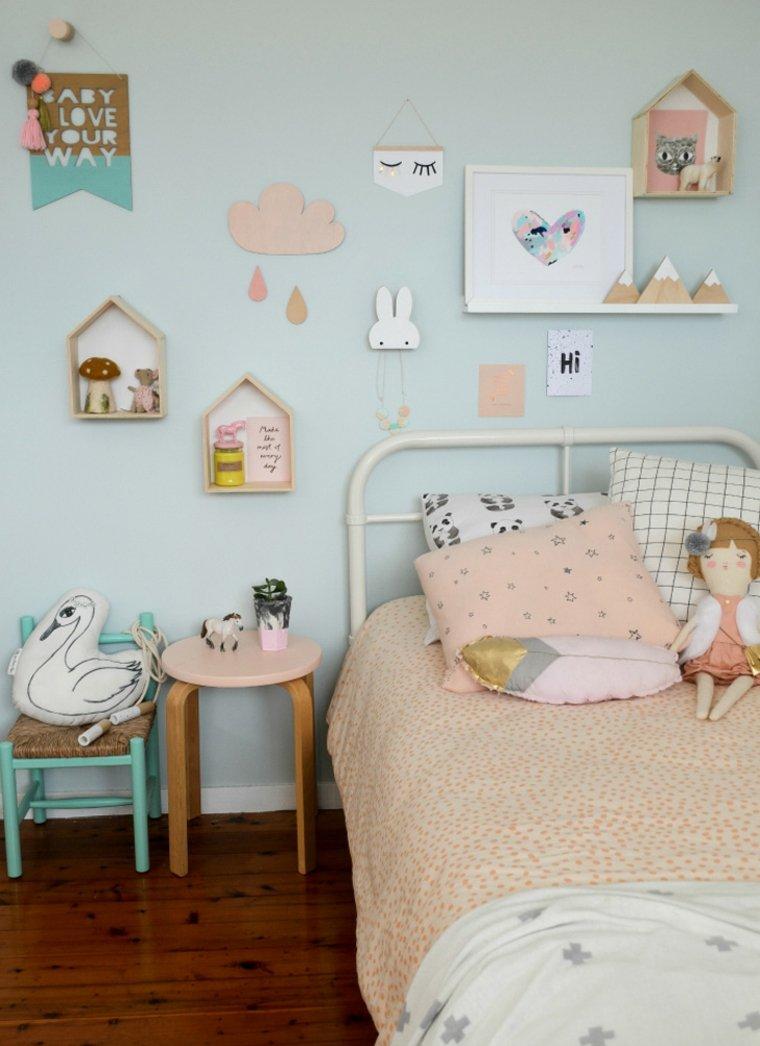 sypialnia pastelowa