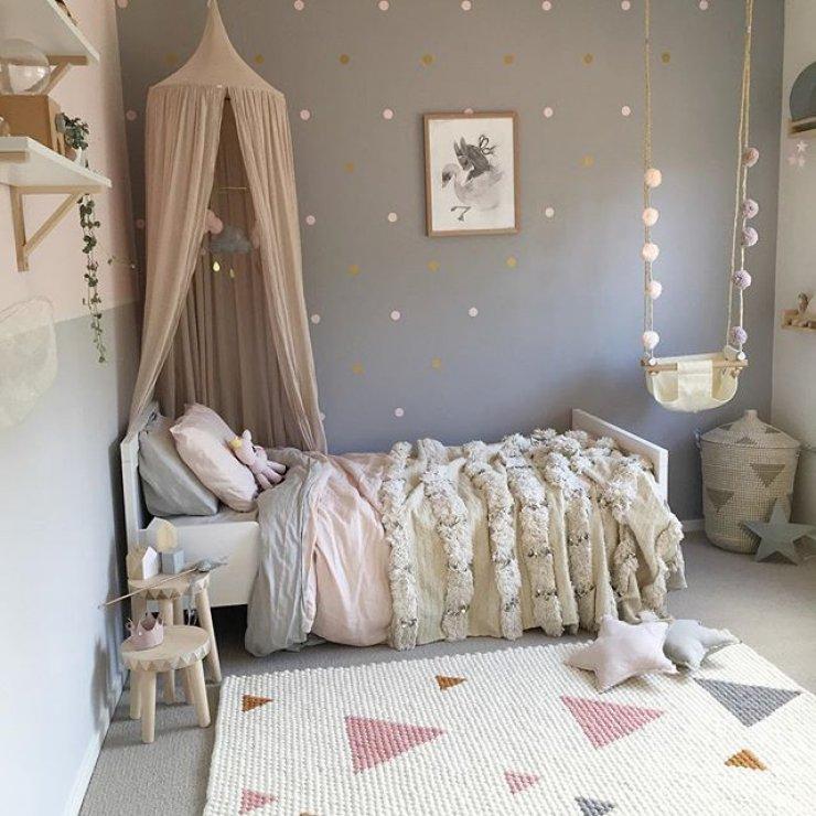 urządzanie pastelowego pokoju dla dziecka