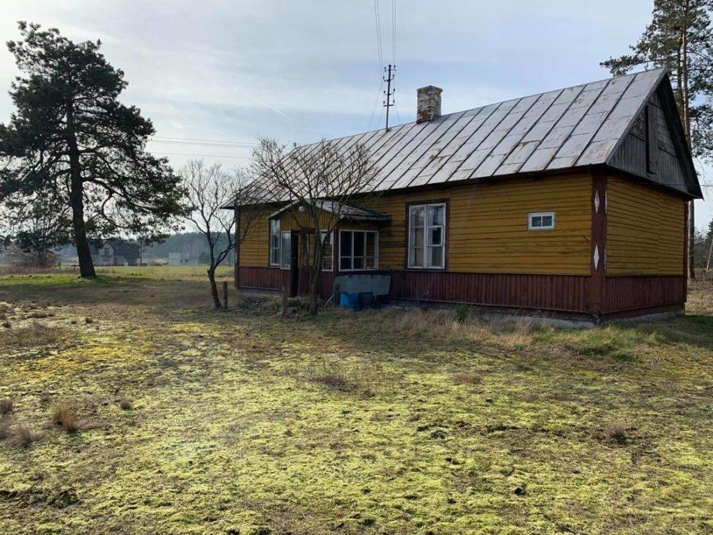 dom drewniany do remontu