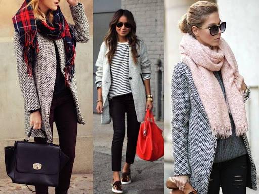 płaszcze na wiosnę na blogach